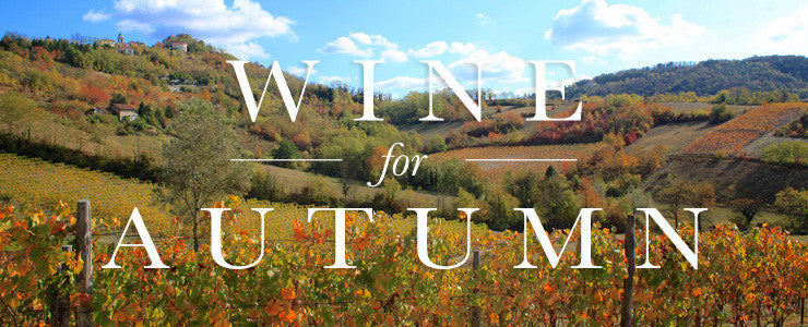 Organic Wines for Autumn