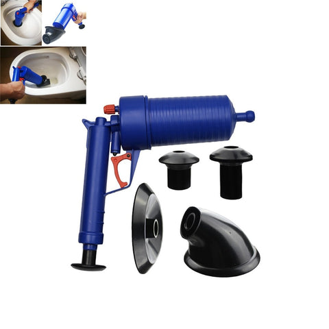 Power Drain Blaster High Pressure sink Plunger - Click for tech