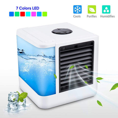 Portable Air Conditioner Humidifier - Click for tech