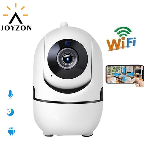 WiFi Wireless Baby Monitor Night Vision Auto Tracking - Click for tech