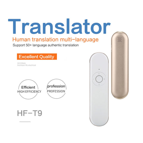 Instant Translator Multi-language Smart Voice - Click for tech