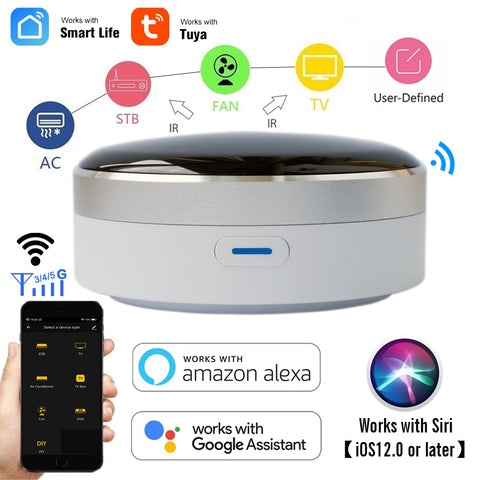 WiFi + Infrared Home Control Hub - Click for tech