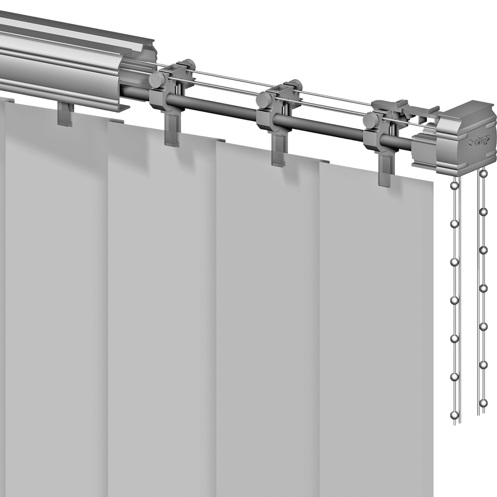 Vertical Blind Headrail (G-98)