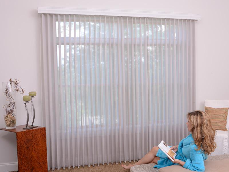 Vertical Blind Drapery Wrap