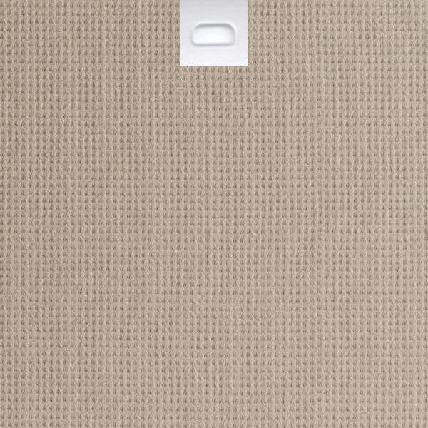 "3 1/2"" Fabric Vertical Blind Replacement Slat (Brighton Toast)"