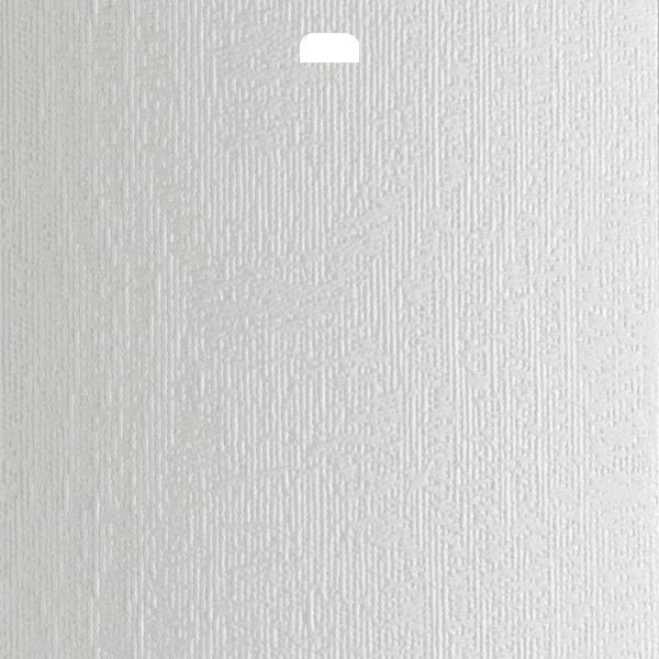 "3 1/2"" Vertical Blind Replacement Slat (Cachet White)"
