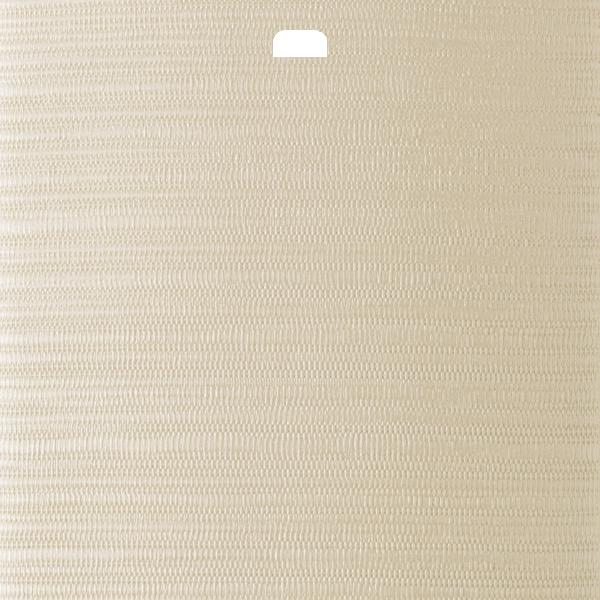 "3 1/2"" Vertical Blind Replacement Slat (Chenille Cream)"