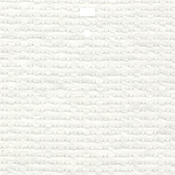 "3 1/2"" Fabric Vertical Blind Channel Panel Insert (Contrast White)"