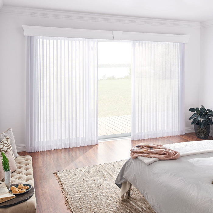 Drapery Conversion Kit For Vertical Blinds