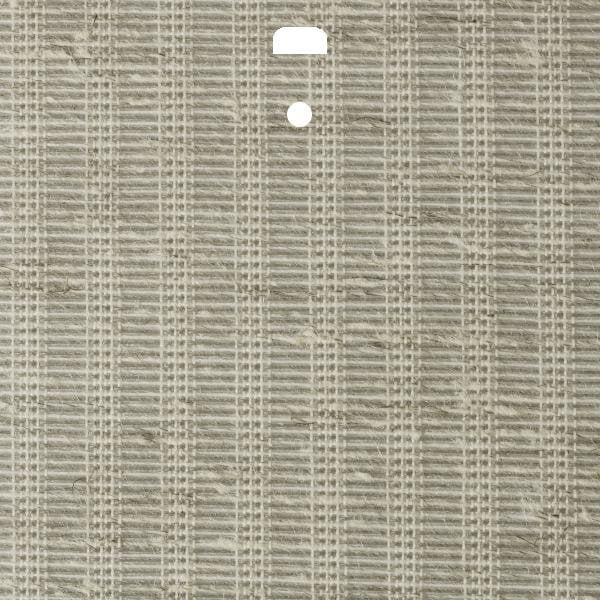 "3 1/2"" Fabric Vertical Blind Channel Panel Insert (Grasses Chestnut)"