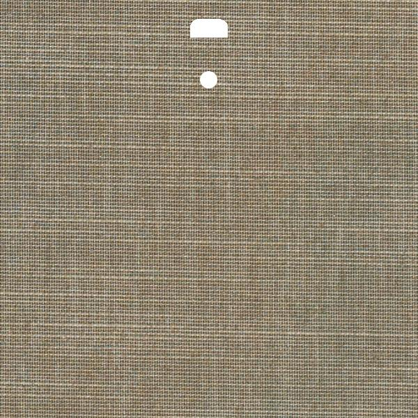"3 1/2"" Fabric Vertical Blind Channel Panel Insert (Harmony Pebble)"