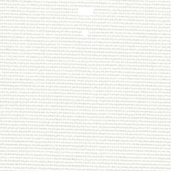 "3 1/2"" Fabric Vertical Blind Channel Panel Insert (London White)"