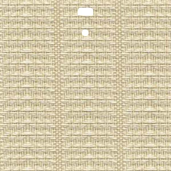 "3 1/2"" Fabric Vertical Blind Channel Panel Insert (Lyon Wheat)"