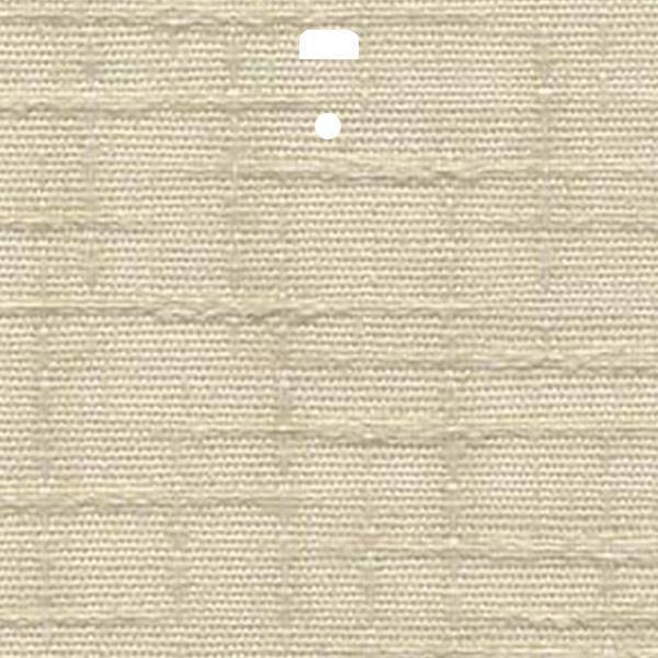 "3 1/2"" Fabric Vertical Blind Channel Panel Insert (Paris Ivory)"