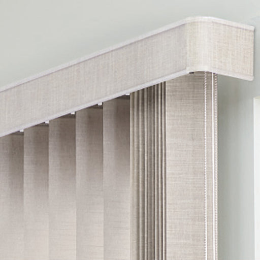 Vertical Blind Valance Base (Round Corner)
