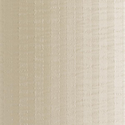 Satin Stripe Ivory Sample