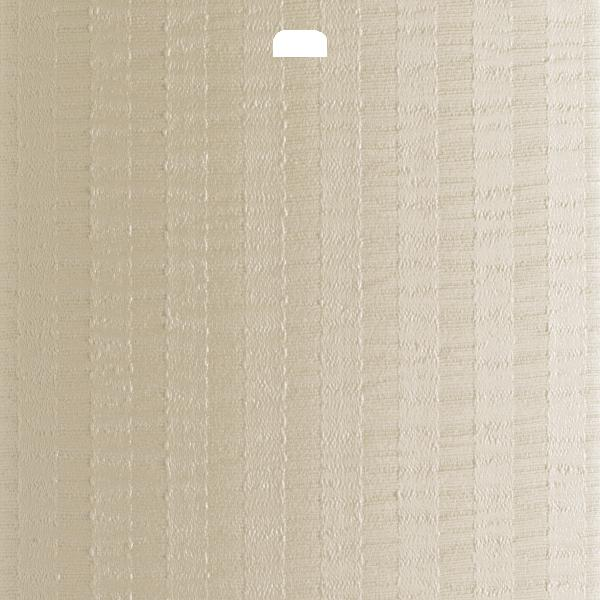 "3 1/2"" Vertical Blind Replacement Slat (Satin Stripe Ivory)"