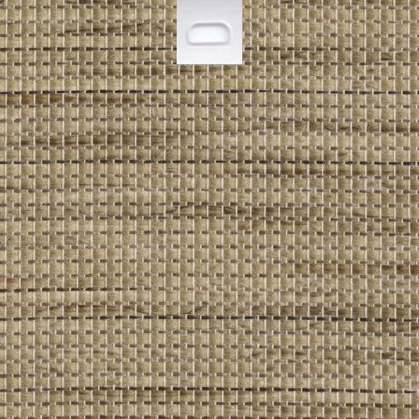 "3 1/2"" Fabric Vertical Blind Replacement Slat (Tahiti Basket Weave)"