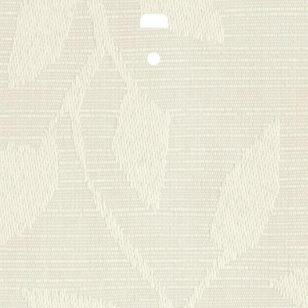 "3 1/2"" Fabric Vertical Blind Channel Panel Insert (Tuvalu Cream)"