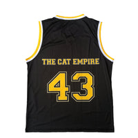 Unisex Black Logo Basketball Jersey