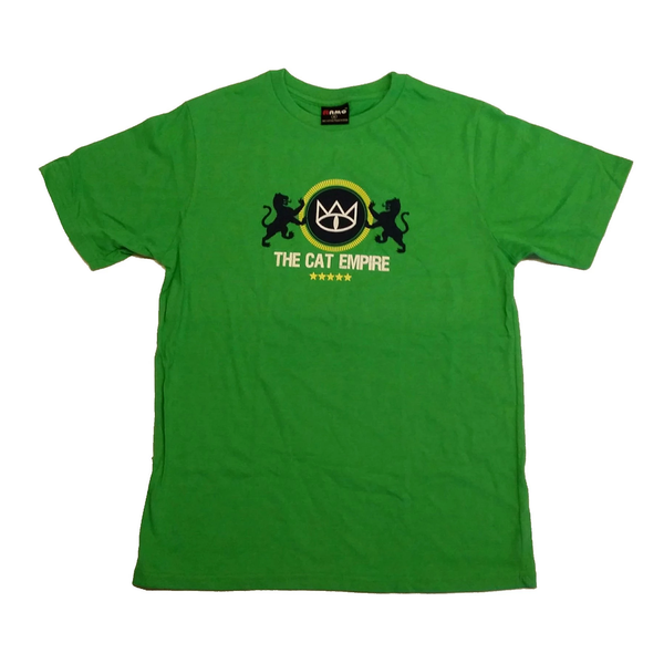 Mens Green Lions T-Shirt