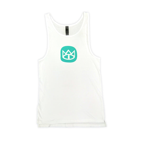 Ladies White Eye Singlet Tank