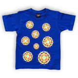 Rising With The Sun Pinwheels Kids Tee