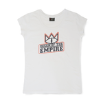 Ladies White Queen Of The Empire T-Shirt