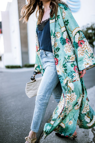 Kimono styling from Because I'm Addicted