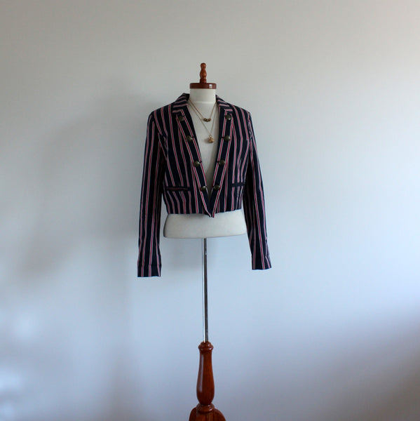 Preppy Ben Sherman crop jacket