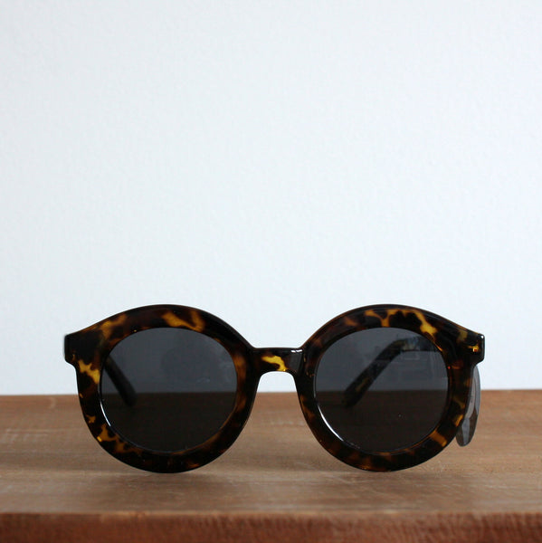 'Get your sunshine on' vintage style sunglasses tort