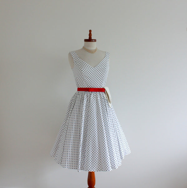 'Miss Mulberry' 1950's style dress