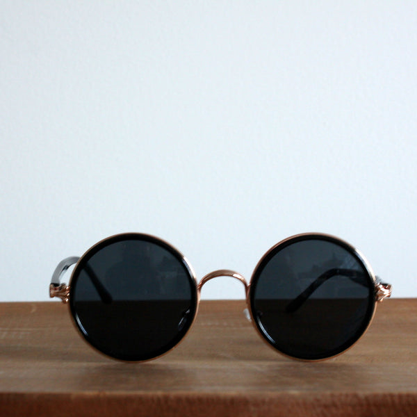 'Climatically Correct' vintage style sunglasses black