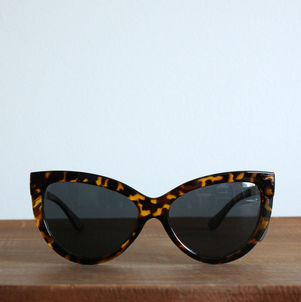 'Midnight Gold' vintage style sunglasses dark tort