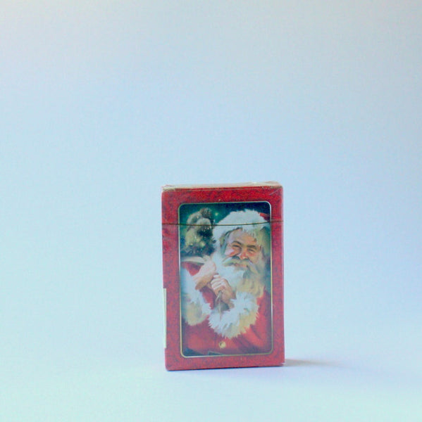 Vintage inspired Christmas playing cards