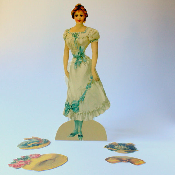 Paper doll set - Victorian Bridesmaid