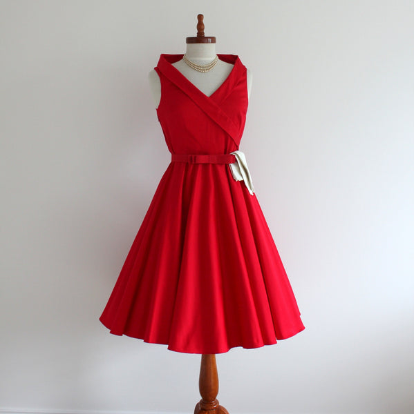 'Aliyah' 1950's style sleeveless dress