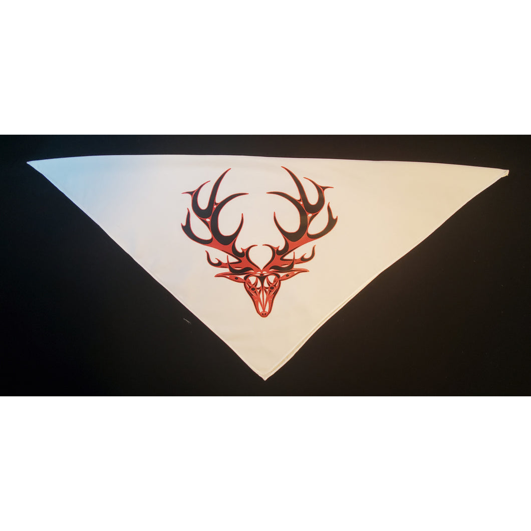 Face Mask Bandana face cover Buck/Deer glow in the dark design.