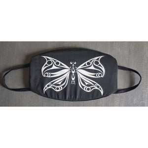 Butterfly glow in the dark face mask