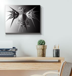 Thunderbird Platnum Canvas Prints