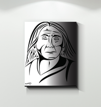 Load image into Gallery viewer, Chief Leschi Canvas Print