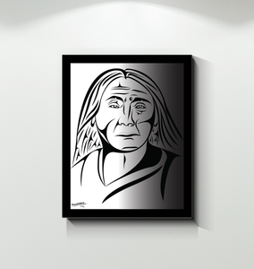 Chief Leschi Canvas Print