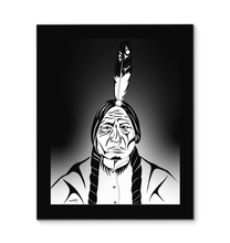 Load image into Gallery viewer, Sitting Bull Canvas Print