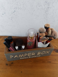 Personalised Gifts For Her - Unique Wooden Boxes - Pamper Box