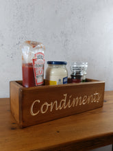 Load image into Gallery viewer, Personalised Gifts For Her - Personalised Wooden Box - Condiments