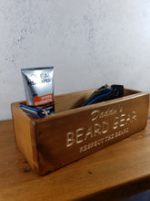 Load image into Gallery viewer, Personalised Gifts For Him - Unique Wooden Boxes - Beard Gear