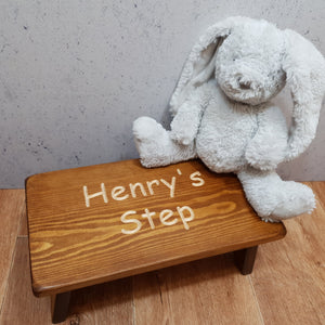 "Personalised Gifts - ""Personalised Child's Step"""