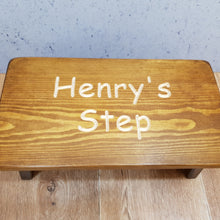 "Load image into Gallery viewer, Personalised Gifts - ""Personalised Child's Step"""