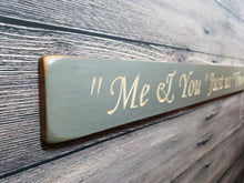 Load image into Gallery viewer, Personalised Gifts For Her - Me and you, Just us two