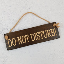Load image into Gallery viewer, Personalised Gifts - Hanging Sign - Do Not Disturb